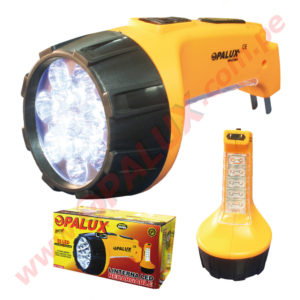 "OP-6118A Linterna LED Recargable 15LED ""OPALUX"""