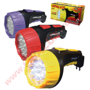 OP-612 Linterna LED Recargable 15LED