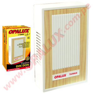 "OP-67 Timbre Din Don ""Opalux"" 220VAC"