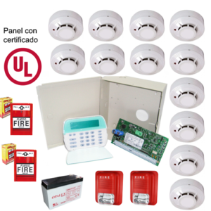 Kit de Alarma de Incendio 16